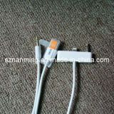 USB 8pin 3.5mm Aux Connector Car Data Audio Cable per il iPhone 5 120cm