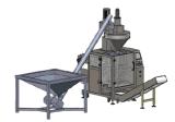 Автоматическая детержентная упаковывая машина