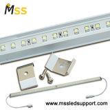 Luz de tira impermeable del aluminio LED