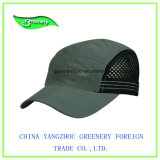 Chapeau gris de sport de tennis de broderie neuve de modèle