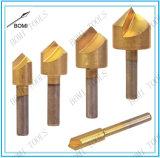 Conjunto Titanium del dígito binario de taladro del avellanador de la PC que chaflana 5 para el conjunto transformista del dígito binario de taladro del metal de madera