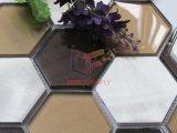 Azulejo de mosaico del vidrio y del aluminio del color de la mezcla (CFA91)