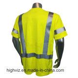 Fr Sécurité T-Shirt avec la norme ANSI (FR-001)