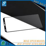 protetor ultra desobstruído curvado cobertura total da tela do vidro Tempered da prova do risco da dureza 9h da borda 3D para Samsung Note8