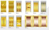 El acero inoxidable coloreado grabó al agua fuerte el elevador del pasajero con buena calidad