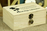 Rectángulo de regalo de madera clásico de gama alta en diseños modificados para requisitos particulares