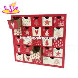 Personalizzare le idee di legno del calendario di avvenimento degli ornamenti di natale per i capretti W09f012
