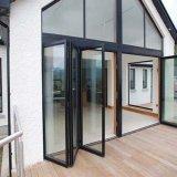 Portello di piegatura di alluminio di stile moderno complesso di disegno