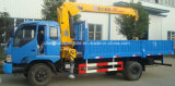 L'alta qualità 4X2 3 tonnellate di camion della gru a braccio girevole un camion di 5 T ha montato con la gru da vendere