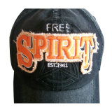 Nuevo lavado gorra de béisbol con el logotipo de Estrás