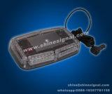 Barre lumineuse d'urgence M139 à stroboscope LED avec aimant monté