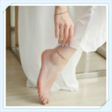 형식 보석 발목 장식이 새로운 디자인 다채로운 유리에 의하여 돌을 던진다