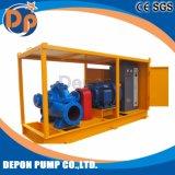 Le carburant diesel ou de la pompe à eau électrique à haute capacité avec remorque