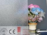 3-6mm coloriu o vidro figurado do vidro de teste padrão