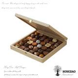 Hongdao paste de Natuurlijke Doos van de Gift van het Suikergoed van de Pijnboom van de Kleur Houten met de Prijs _E van de Fabriek van het Embleem aan
