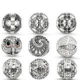 O europeu quente da prata esterlina das vendas 925 perla a jóia