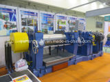 Configuração elevada da maquinaria de borracha do moinho de mistura de dois rolos