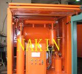 Zuiveringsinstallatie van de Isolerende Olie van Zy van de reeks de Hoge Vacuüm, de Diëlektrische Zuiverende Machine van de Olie
