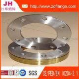 ANSI/JIS/EN1092-1/DIN/BS4504 Flange de Aço Carbono Padrão