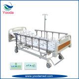 手のコントローラが付いているFoldableアルミ合金の病院用ベッド