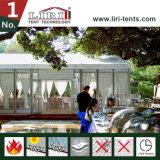 Chapiteau de luxe de mariage avec le mur en verre pour des mariages et des usagers