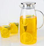 Gran Capacidad Tetera de cristal jarro jugo Jugo de la caldera
