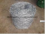 Высокое качество оцинкованной колючей проволоки стальной проволоки для стены безопасности