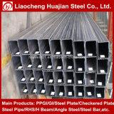 Tubo senza giunte rettangolare dell'acciaio dolce per uso della costruzione