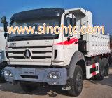 BEIBEN 6X4 de zware vrachtwagen van de stortplaatsvrachtwagen