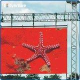 옥외 풀 컬러 음악 임대 발광 다이오드 표시 스크린