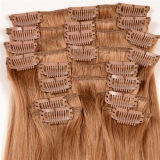 Hair Extensions Human Hair에 있는 Human Hair Extensions Peruvian Straight Hair 10PCS/Set Natural Black Clip에 있는 아름다움 Forever Clip