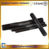 Легированная сталь дважды конец резьбовой шпильки/резьбовой стержень