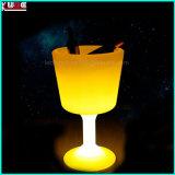 [لد] بلاستيكيّة [فلوور بوت] [لد] يضاء فنجان [فلوور بوت]