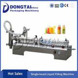 Jus de fruits à haute vitesse semi-automatique/machine de remplissage de liquide