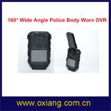 5m 2 '' Polizei-Karosserie getragene Kamera-Polizei DVR mit der 3600 Milliamperestunden-Batterie
