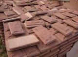 装飾のための赤い砂岩の床タイル