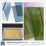 Vidrio reflexivo endurecido plano/curvado para el edificio/la ventana