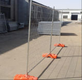 Clôture provisoire galvanisée plongée chaude pour la construction