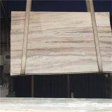 Modern Design Chinese White Blue Galaxy Mármore de veia de madeira