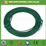 Fil de fer revêtu de plastique, fil revêtu de PVC, fil en PVC, fil en plastique