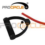 Tubo domestico di resistenza di esercitazione di Pilates di allenamento di forma fisica