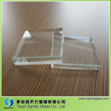 Le verre de flottement normal Le meilleur verre de couverture fabrique le verre de lumière