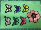 Accessoires du vêtement de papillons paillettes patches patch broderie Ym-016