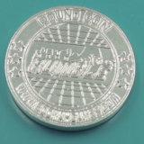 Изготовленный на заказ монетки ассоциации сувенира серебра металла (XD-0201)