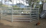 튼튼한 입히는 가축 또는 양 또는 암소 야드 위원회 농장 담