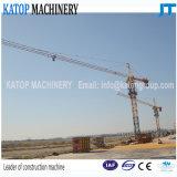 판매를 위한 유압 지브 길이 50m Tc5010 최대 5t 탑 기중기