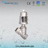 SS304 SS316ステンレス鋼の熱い販売のための空気圧アングルピストンバルブ
