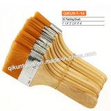 F-33 крепежные детали краски украшают ручные инструменты окрашенные деревянные ручки кисти из натуральной щетины