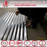 Hoja de acero acanalada galvanizada para los azulejos de material para techos
