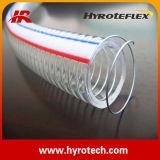 Tuyau renforcé de PVC de Hose& de fil d'acier de Hose&PVC de fil d'acier de PVC Spriral